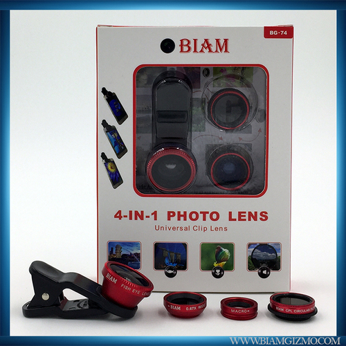 4 in 1 Cam Red